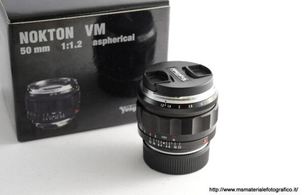 Obiettivo Voigtlander Nokton 50mm f/1,2 VM