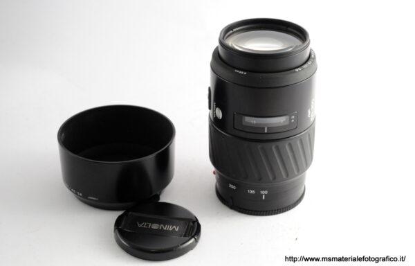 Obiettivo Minolta AF 100-300mm f/4,6-5,6 per Sony A
