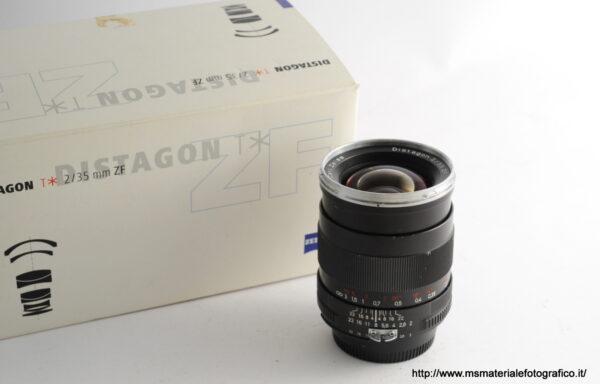 Obiettivo Zeiss Distagon ZF T* 35mm f/2 per Nikon