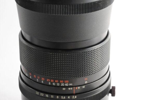 Obiettivo Carl Zeiss Jena MC Sonnar 180mm f/2,8 per Pentacon Six TL e Kiev 60