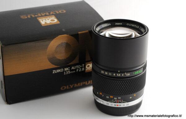 Obiettivo Olympus OM-System 135mm f/2,8