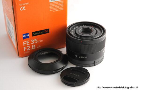 Obiettivo Sony FE 35mm f/2,8 ZA T*
