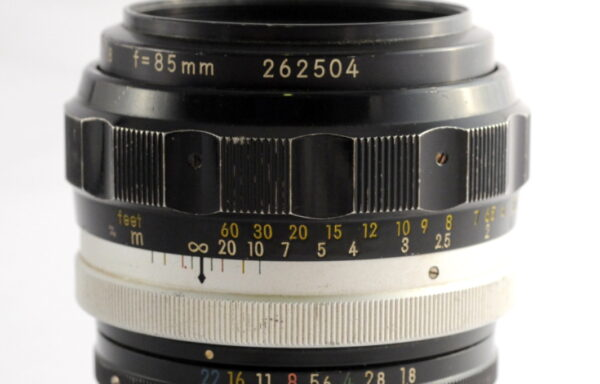 Obiettivo Nikkor-H 85mm f/1,8