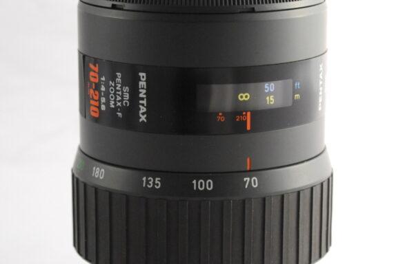 Obiettivo SMC Pentax-F 70-210mm f/4-5,6