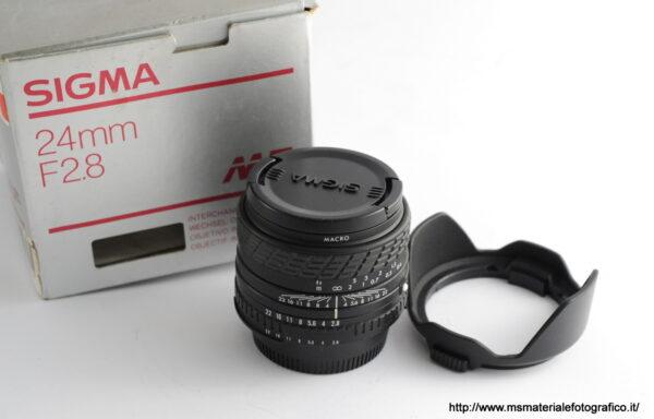 Obiettivo Sigma 24mm f/2,8 per Nikon AI