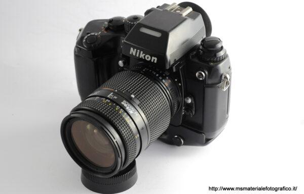 Kit Fotocamera Nikon F4 + Obiettivo Nikkor AF 35-70mm f/2,8 in omaggio