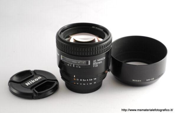 Obiettivo Nikkor AF 85mm f/1,8
