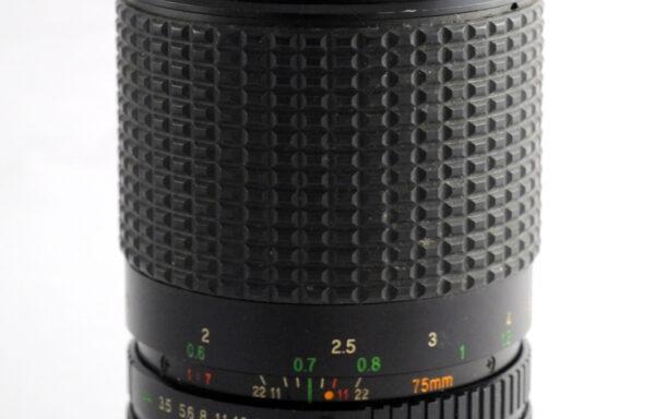 Obiettivo Ozunon MC 35-75mm f/3,5-4,8 per Canon FD