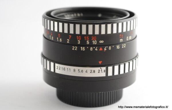 Obiettivo Oreston 50mm f/1,8 M42