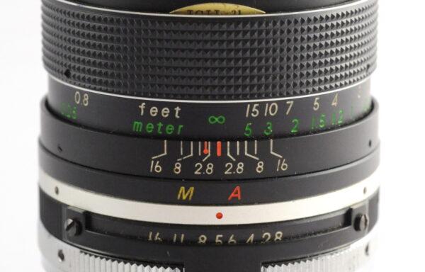 Obiettivo Suntar YS 35mm f/2,8 per Nikon