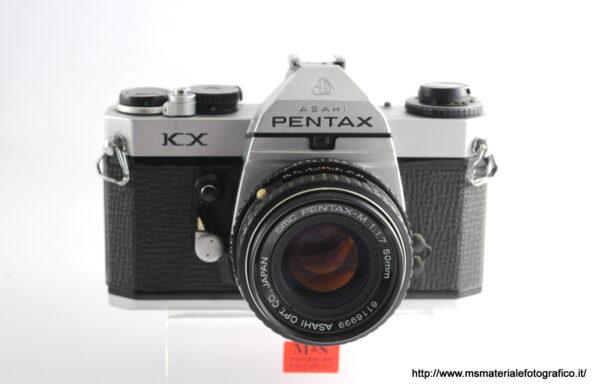 Kit Fotocamera Pentax KX + Obiettivo Pentax-M 50mm f/1,7