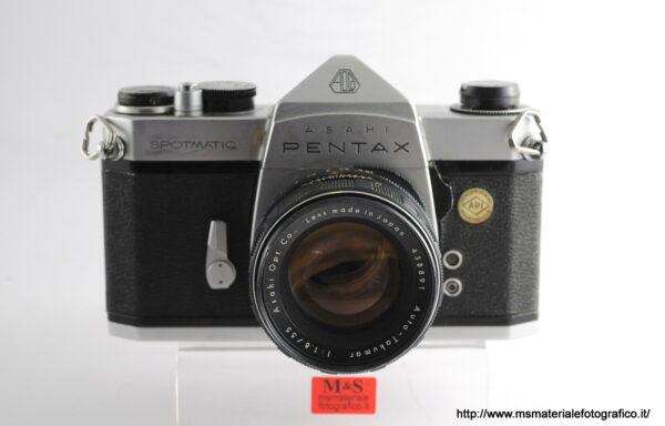 Kit Fotocamera Pentax Spotmatic + Obiettivo Pentax Auto-Takumar 55mm f/1,8