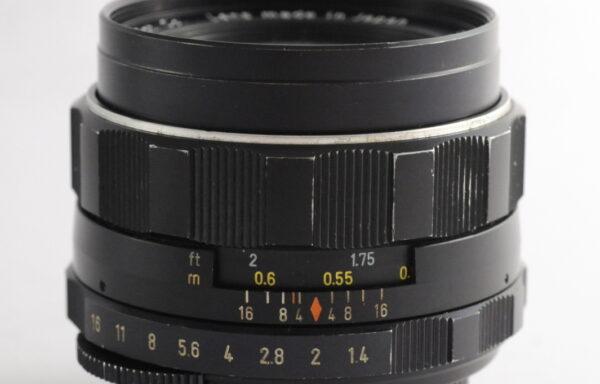 Obiettivo Pentax Super-Takumar 50mm f/1,4 M42