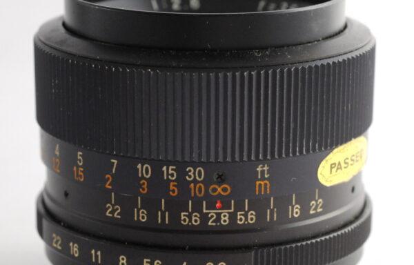 Obiettivo Revuenon Special 35mm f/2,8 M42