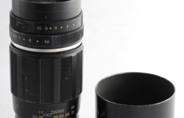 Obiettivo Pentax Takumar 200mm f/5,6 M42