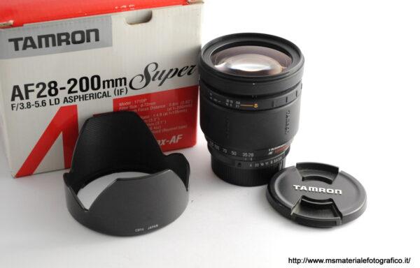 Obiettivo Tamron 28-200mm f/3,8-5,6 LD per Pentax AF
