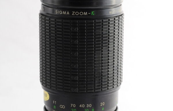 Obiettivo Sigma 100-200mm f/4,5 per Pentax