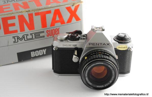 Kit Fotocamera Pentax ME Super + Obiettivo Pentax-M 50mm f/1,7