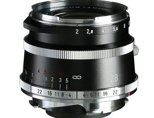 Obiettivo Voigtlander Ultron 28mm f/2 Tipo I VM Nero Matt