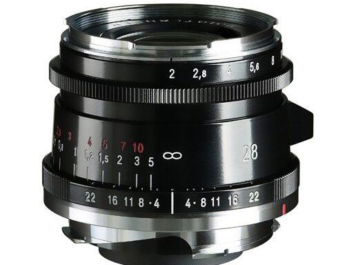 Obiettivo Voigtlander Ultron 28mm f/2 Tipo II VM Black