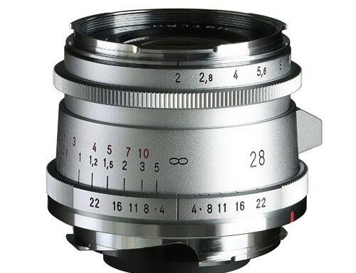Obiettivo Voigtlander Ultron 28mm f/2 Tipo II VM Silver