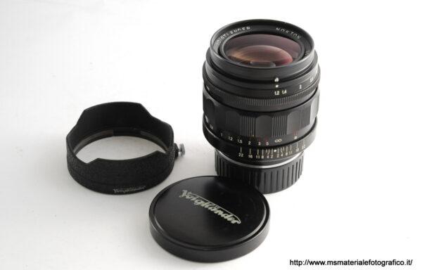 Obiettivo Voigtlander Nokton 35mm f/1,2 VM