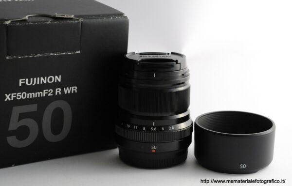 Obiettivo Fujifilm XF 50mm f/2 R WR