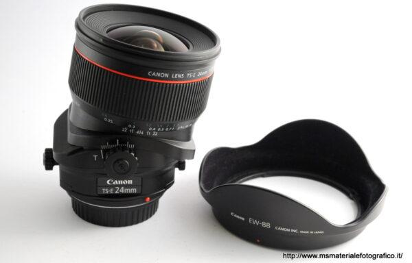 Obiettivo Canon TS-E 24mm f/3,5 L II