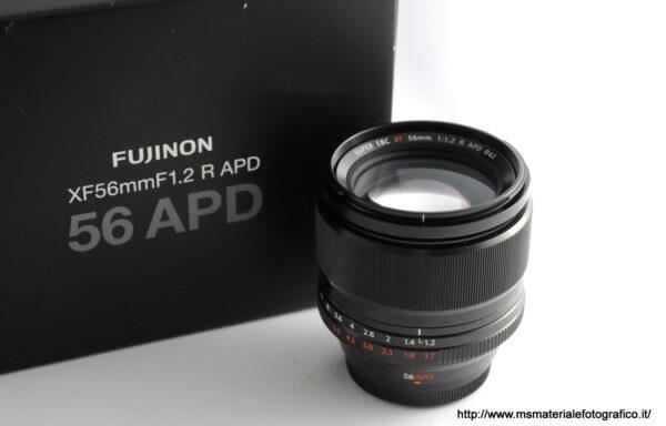 Obiettivo Fujifilm XF 56mm f/1,2 R APD