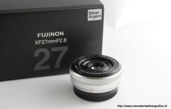 Obiettivo Fujifilm XF 27mm f/2,8