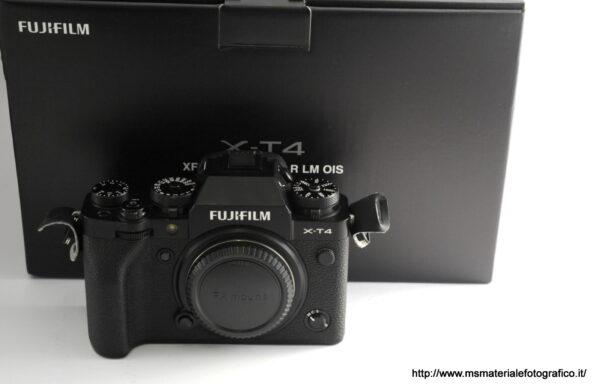 Fotocamera Fujifilm X-T4 Black