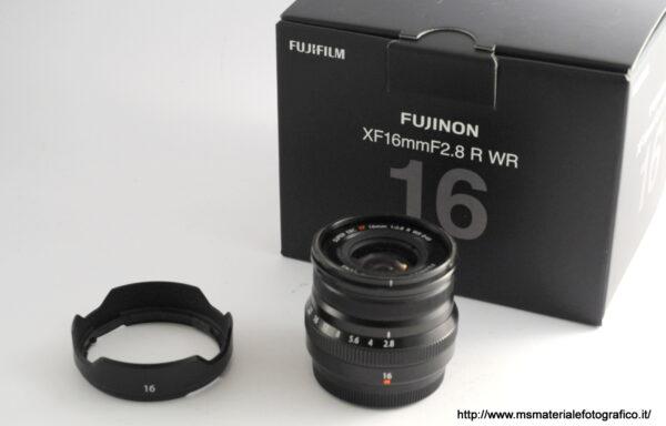 Obiettivo Fujifilm XF 16mm f/2,8 R WR