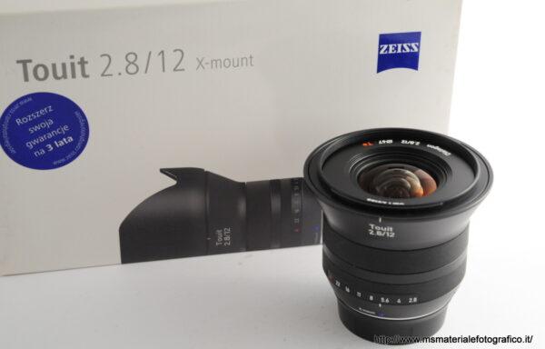 Obiettivo Zeiss Touit 12mm f/2,8 X-Mount
