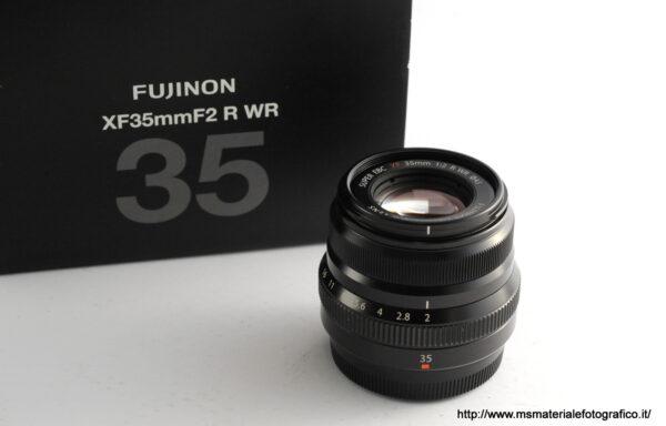 Obiettivo Fujifilm XF 35mm f/2 R WR Black