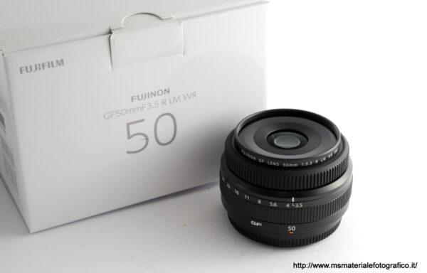 Obiettivo Fujifilm GF 50mm f/3.5 R LM WR
