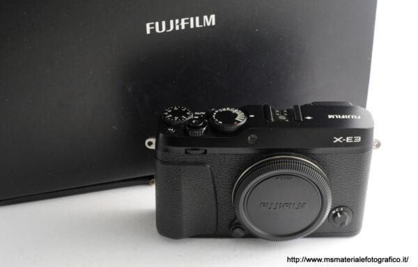 Fotocamera Fujfiilm X-E3 Black