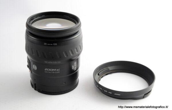 Obiettivo Minolta AF 28-105mm f/3,5-4,5
