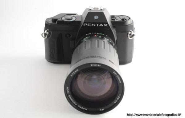 Kit Fotocamera Pentax P30n + Obiettivo Vivitar 28-210mm f/3,5-5,6