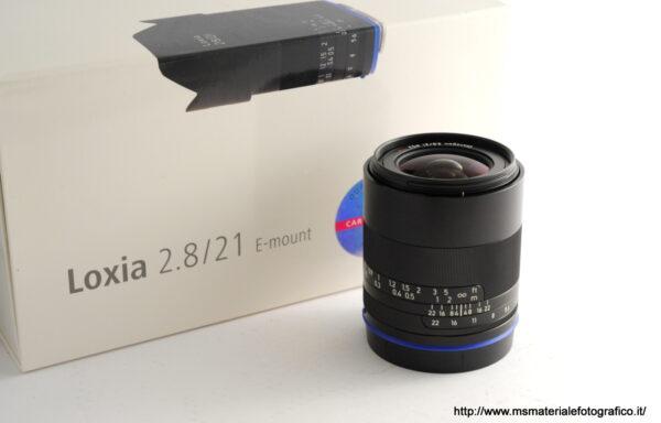 Obiettivo Zeiss Loxia Distagon 21mm f/2,8 E-Mount
