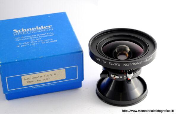 Obiettivo Schneider Super-Angulon XL 115° 72mm f/5,6