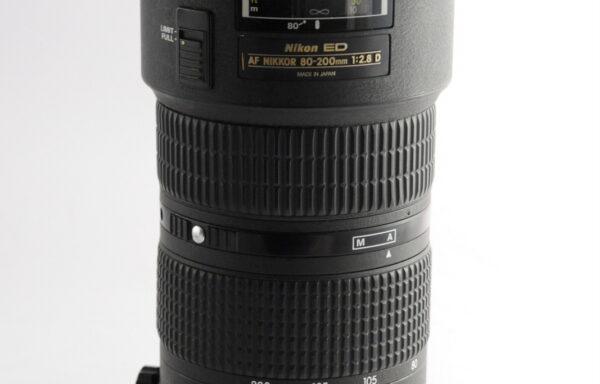 Obiettivo Nikkor AF 80-200mm f/2,8 D ED